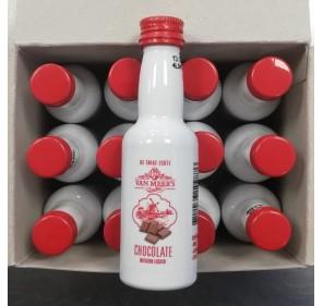 Van Meers Likeur - chocolade-  50 ml (12 pieces)