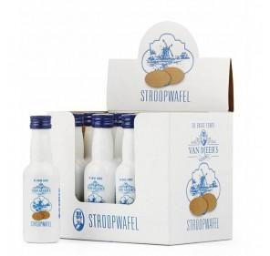 Van Meers Likeur - stroopwafel 50 ml (12 pieces)
