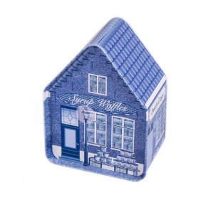 Tin House with Stroopwafels (2x 2-pack)