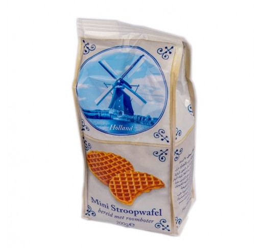 Mini Stroopwafels with dairy butter (about 25 pieces, 200g)