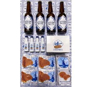 Stroopwafelbeer Luxe pack + 4 bottles Van Meers Liquor